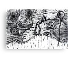 melting illusions Canvas Print