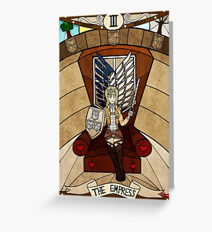 III The Empress - Christa Renz Greeting Card