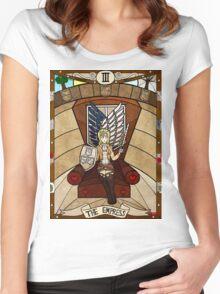 III The Empress - Christa Renz Women's Fitted Scoop T-Shirt