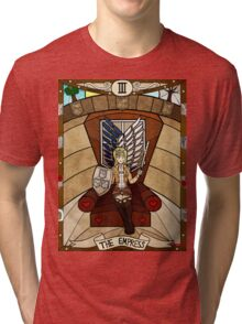 III The Empress - Christa Renz Tri-blend T-Shirt
