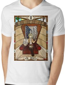 III The Empress - Christa Renz Mens V-Neck T-Shirt