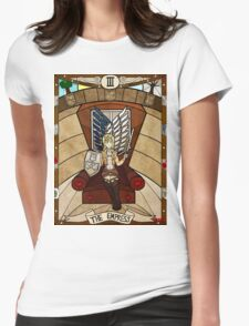 III The Empress - Christa Renz Womens Fitted T-Shirt