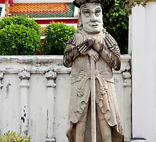 Farang Guard by phil decocco