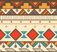 Aztec pattern 03 Sticker