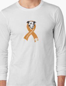 Pit Bull Awareness Ribbon Long Sleeve T-Shirt