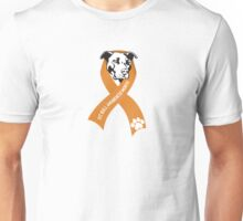 Pit Bull Awareness Ribbon Unisex T-Shirt