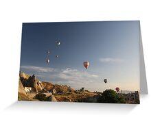 Sunrise in Capadokya  Greeting Card