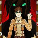 0 The Fool - Eren Jaeger by legendaryarmor