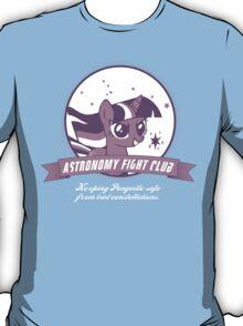 Twilight Sparkle's Astronomy Fight Club T-Shirt