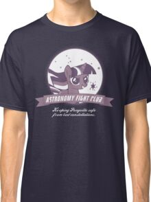Twilight Sparkle's Astronomy Fight Club Classic T-Shirt