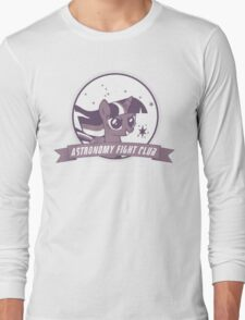 Twilight Sparkle's Astronomy Fight Club Long Sleeve T-Shirt