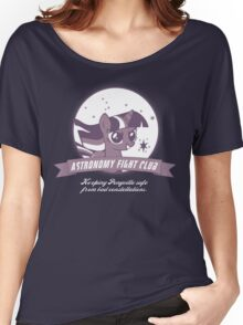 Twilight Sparkle's Astronomy Fight Club Women's Relaxed Fit T-Shirt