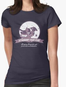 Twilight Sparkle's Astronomy Fight Club Womens Fitted T-Shirt