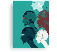 ELECTROHEADS Canvas Print