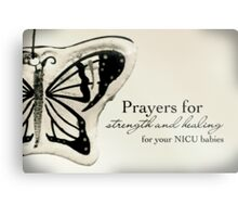 Prayers for NICU Babies Metal Print