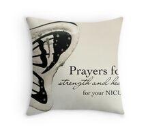 Prayers for NICU Babies Throw Pillow