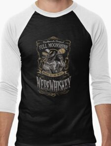 WereWhiskey Men's Baseball ¾ T-Shirt