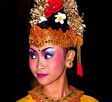 Balinese Performer by Chris Westinghouse