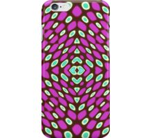 Abstract peacock pattern 3 iPhone Case/Skin