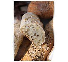 Sunflower & Pumpkin Seed Bread Poster
