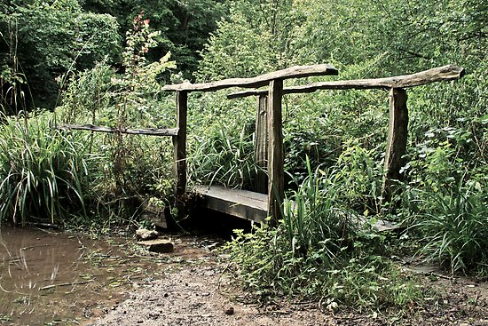 Old Foot Bridge by DanielUnderhill