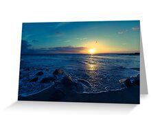 Edisto Sunset Greeting Card