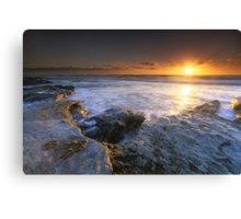 """The Golden Hour"" ∞ Caloundra, QLD - Australia Canvas Print"
