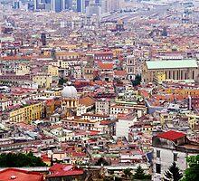 Vista of Napoli toward hills by Hollyis