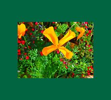 Large yellow and orange flowers close up Unisex T-Shirt