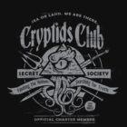 Cryptids Club (Dark Shirt Version) by HeartattackJack