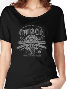 Cryptids Club (Dark Shirt Version) Women's Relaxed Fit T-Shirt