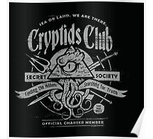 Cryptids Club (Dark Shirt Version) Poster