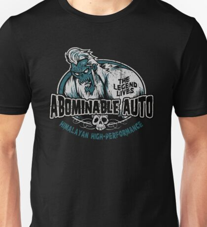Abominable Auto Unisex T-Shirt