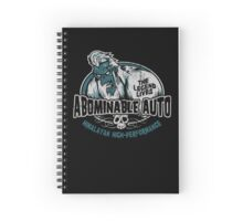 Abominable Auto Spiral Notebook