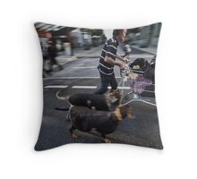 The Shopping Trolley Throw Pillow