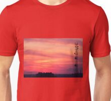Tower of mobile communication antennas Unisex T-Shirt