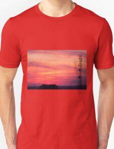 Tower of mobile communication antennas T-Shirt
