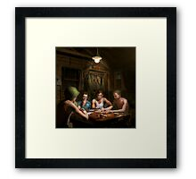 WWII - The card game 1943 Framed Print