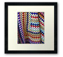 Wool Knit Framed Print