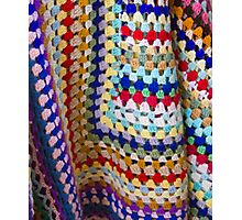 Wool Knit Photographic Print