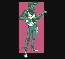 Rock 'n Roll Wolf by HeartattackJack