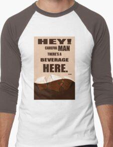 The Big Lebowski movie quote Men's Baseball ¾ T-Shirt