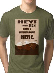 The Big Lebowski movie quote Tri-blend T-Shirt
