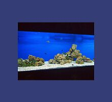 Large and long aquarium with sea water blue T-Shirt