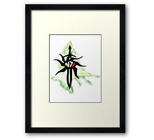 Stylised N7 Inquisition with Rift Framed Print
