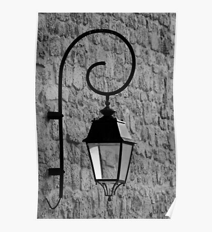 Street Light - France Poster