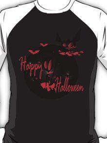 happy halloween horror fantasy vector art T-Shirt