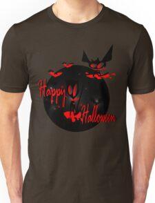 happy halloween horror fantasy vector art Unisex T-Shirt