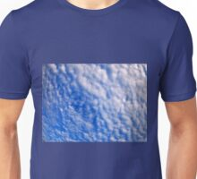 Dense clouds on a bright blue sky Unisex T-Shirt