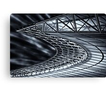 Berlin, Olympic Stadium, roof construction Canvas Print